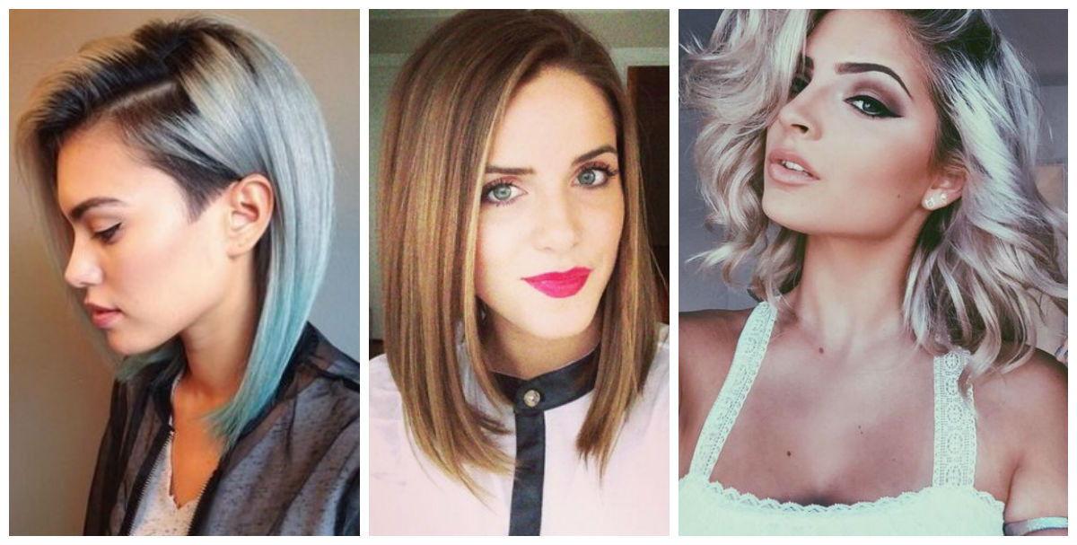 Модные прически на средние волосы весна-лето 2019