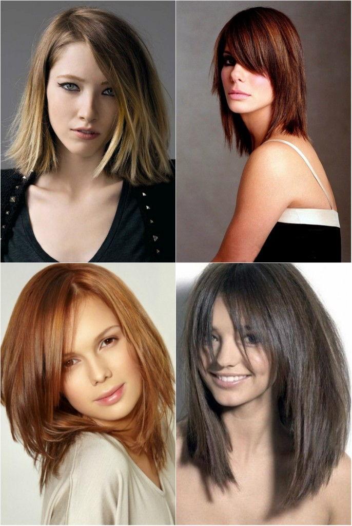 Модные классические прически на средние волосы