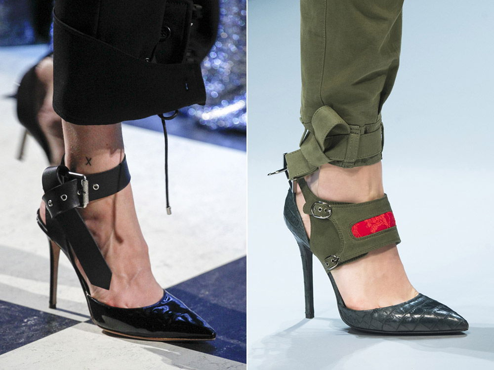 Стильные женские туфли с узким носом осень-зима 2018-2019