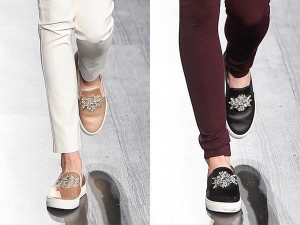 Женские туфли в спортивном стиле осень-зиа 2018-2019