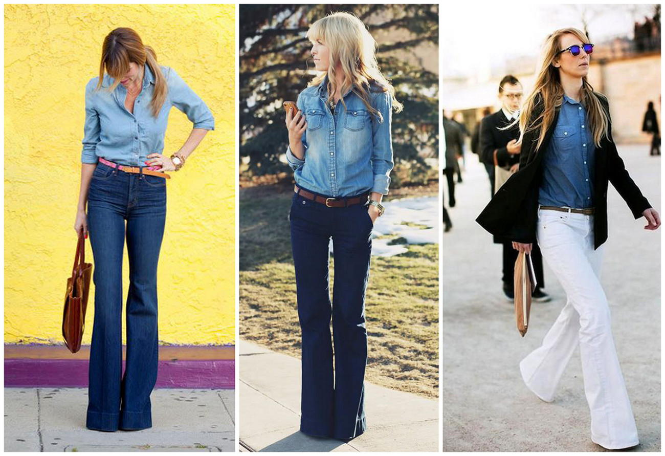 Джинсовые брюки осень-зима 2020-2021