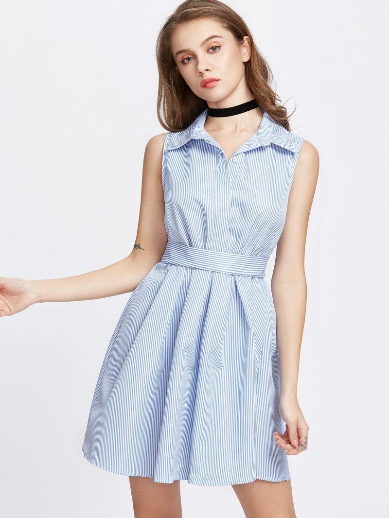 Платье-рубашка на каждый день-осень-зима 2018-2019