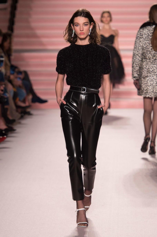 Кожаные брюки очень-зима 2020-2021