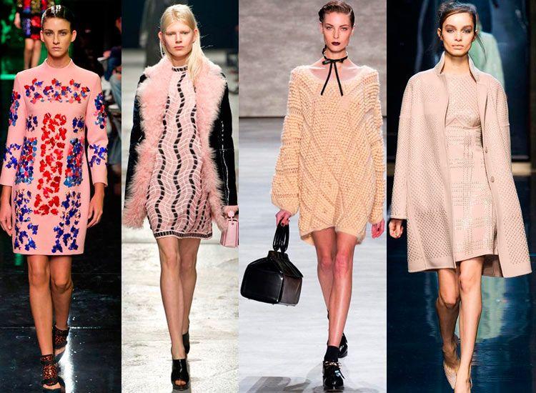 Модная длина платья осень-зима 2018-2019