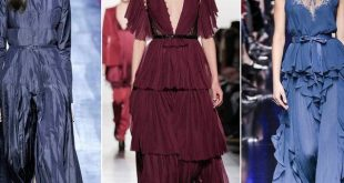 Модные коктейльные платья осень-зима 2018-2019 фото