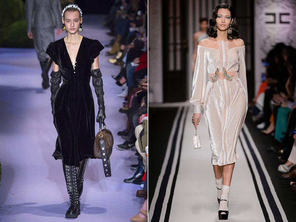 Идеальные коктейльные платья осень-зима 2018-2019