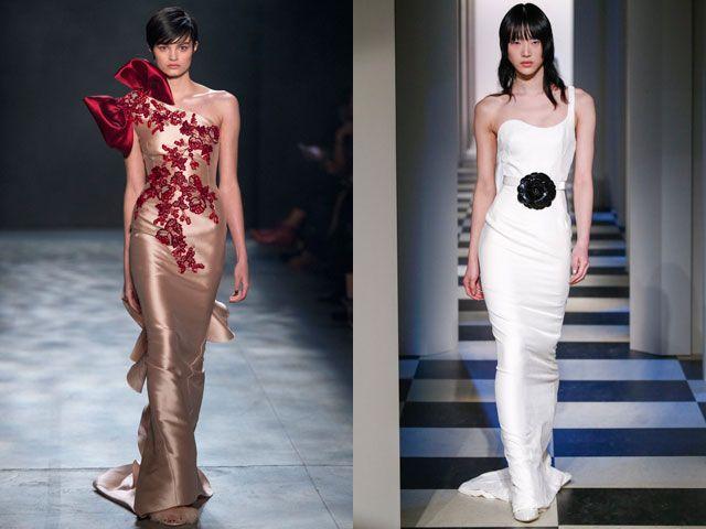 Модные вечерние платья по фигуре осень-зима 2019-2020