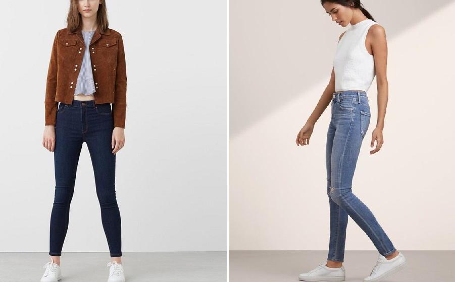 Модные джинсы скини осень-зима 2018-2019