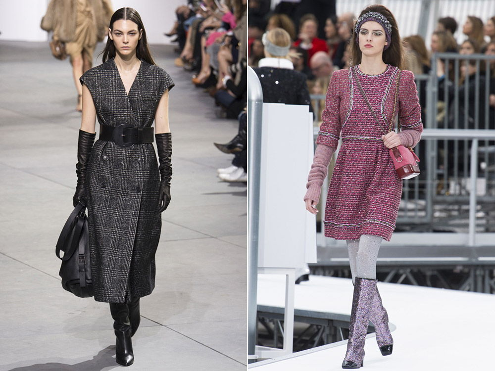 Стильные теплые платья осень-зима 2019-2020