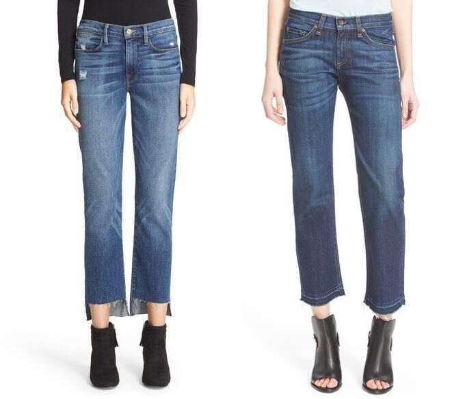 Модные джинсы прямого кроя осень-зима 2018-2019