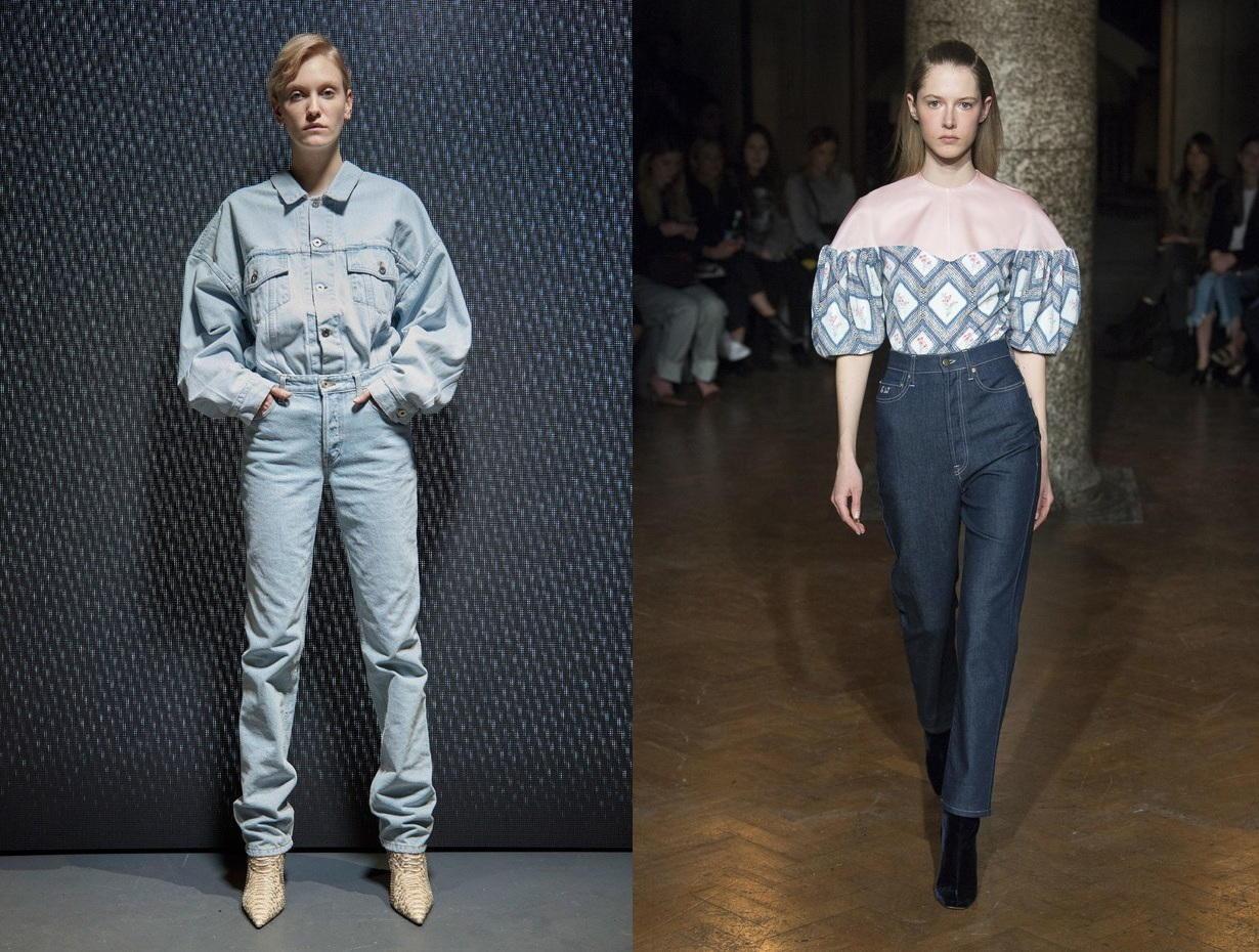 Модные джинсы в стиле бохо - тренд сезона осень-зима 2018-2019