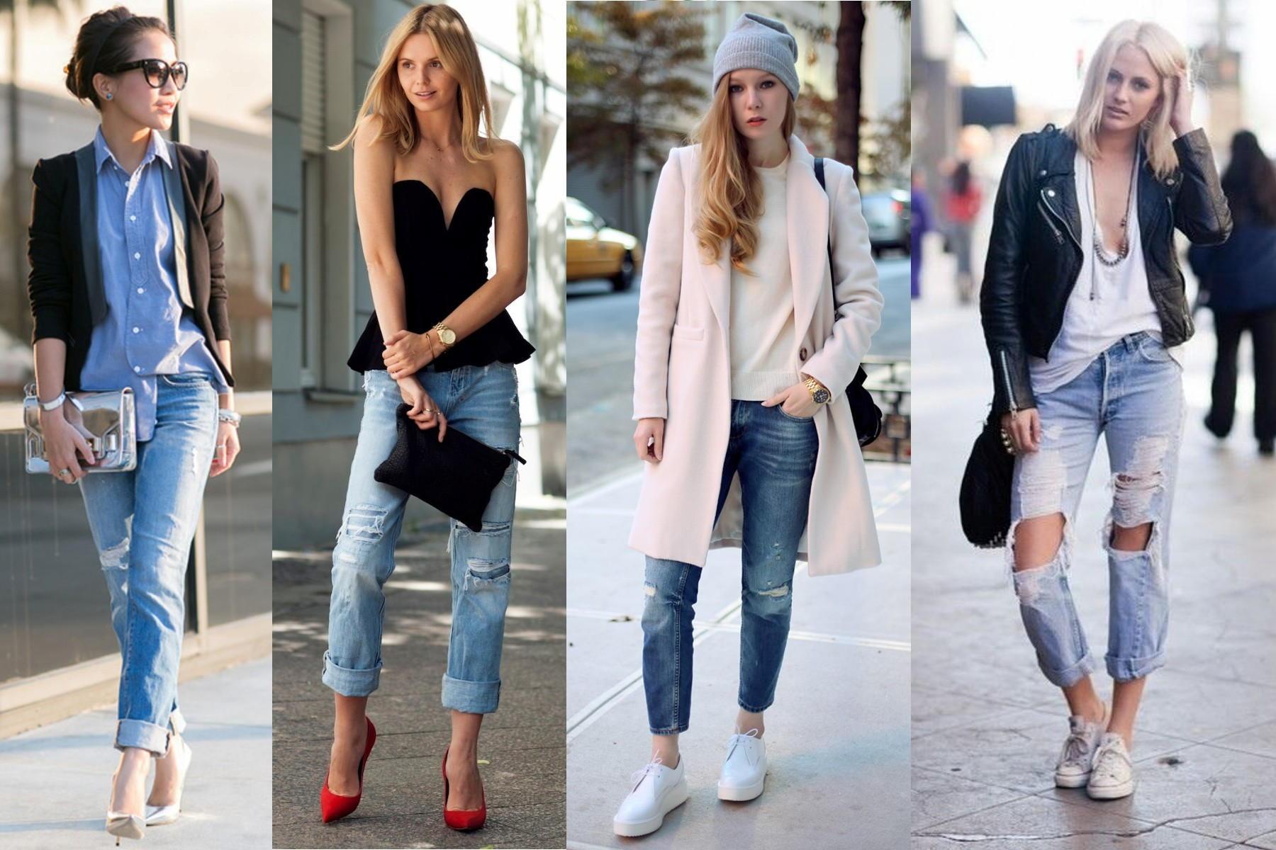 Стильные укороченные джинсы своими руками