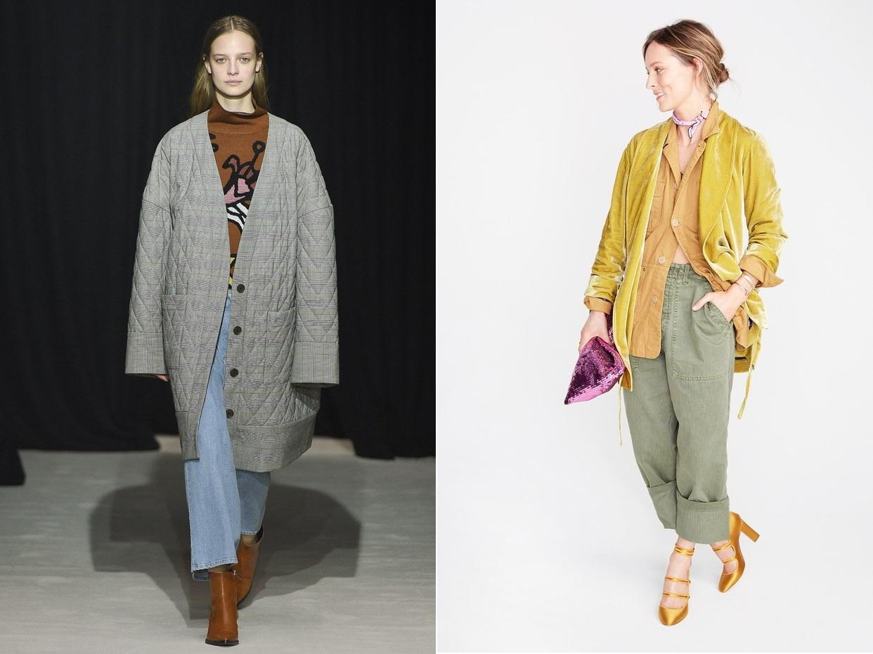 Широкие джинсы - модный тренд осень-зима 2018-2019