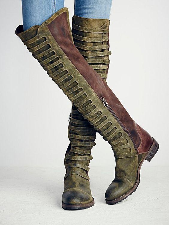 Стильные солдатские ботинки на осень-зима 2020-2021
