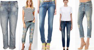 Модные жнские джинсы осень-зима 2018-2019