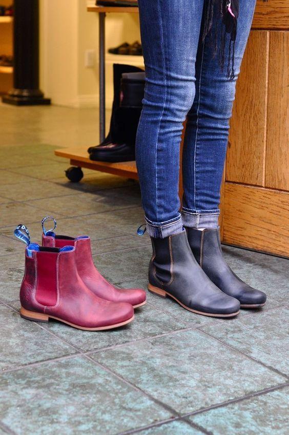 Модный цвета женских ботинок осень-зима 2018-2019