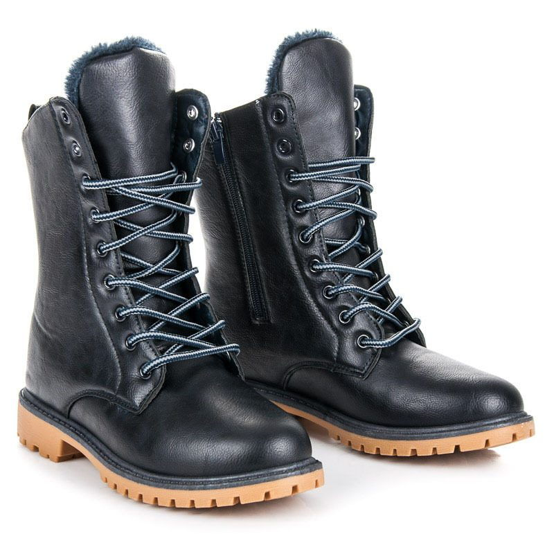 Модные женские ботинки со шнуровкой осень-зима 2018-2019