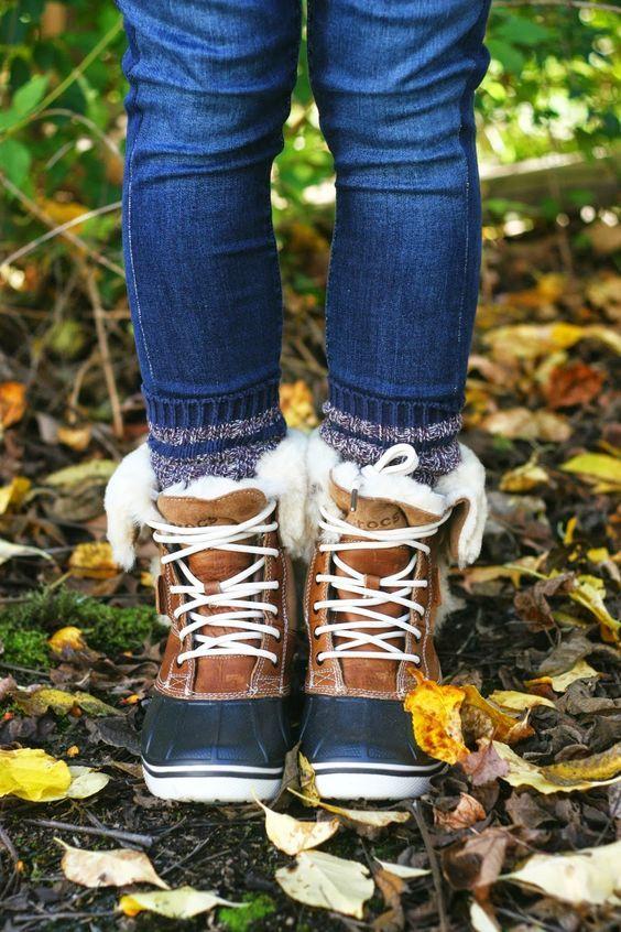 Женские спортивные ботинки с мехом осень-зима 2018-2019