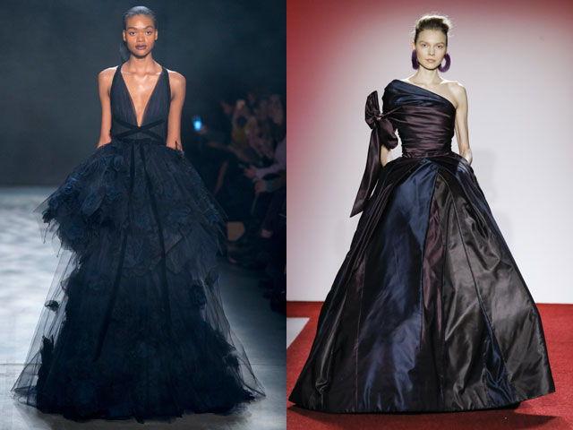 Роскошные вечерние платья осень-зима 2020-2021
