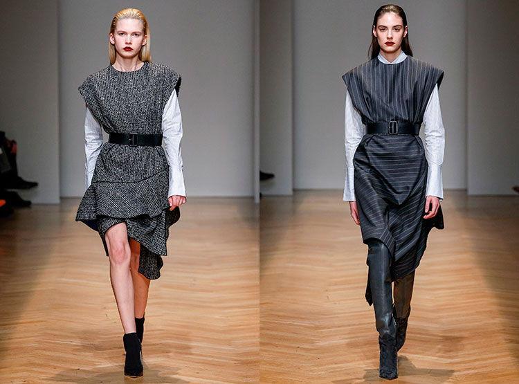 Модные деловые сарафаны осень-зима 2019-2020