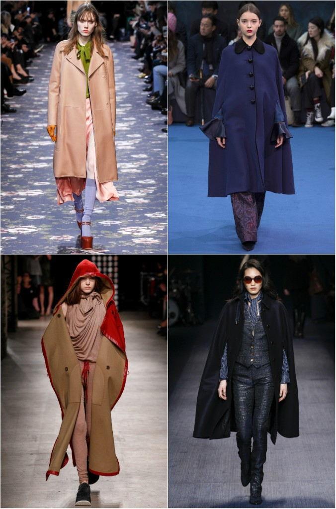 Модные женские плащи оверсайз осень-зима 2018-2019