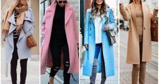 Модные модели пальто осень-зима 2018-2019