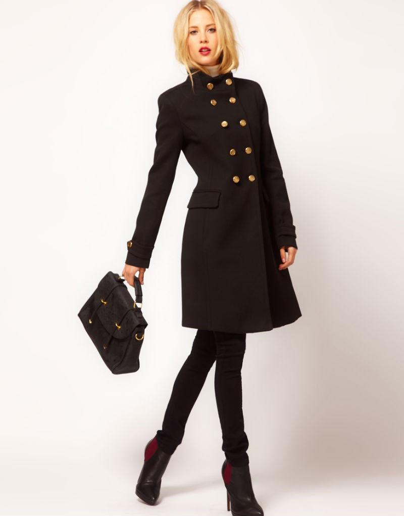 Классические модели женского пальто осень-зима 2018-2019