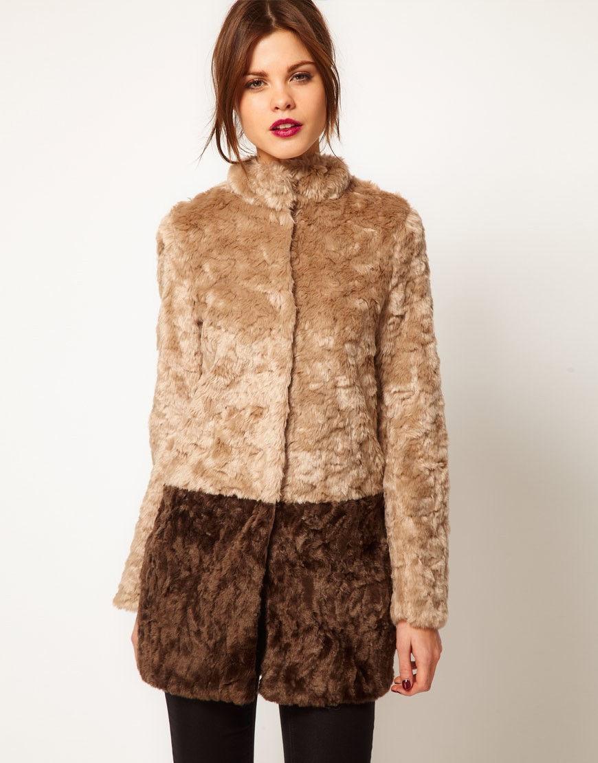 Модное пальто из меха осень-зима 2018-2019