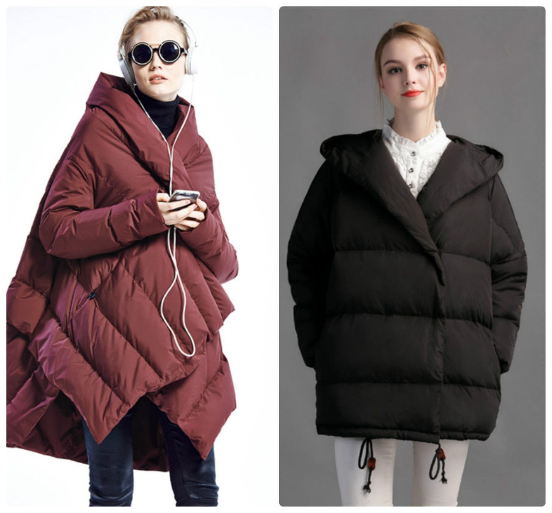Модные пуховики оверсайз осень-зиа 2018-2019