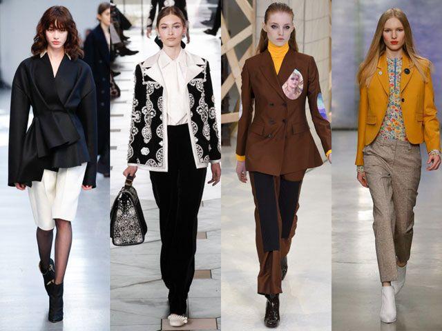 Модные женские пиджаки и жакеты осень-зима 2018-2019 фото
