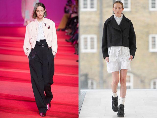 Модные укороченные пиджаки и жакеты осень-зима 2018-2019 укороченные пиджаки и жакеты осень-зима 2018-2019