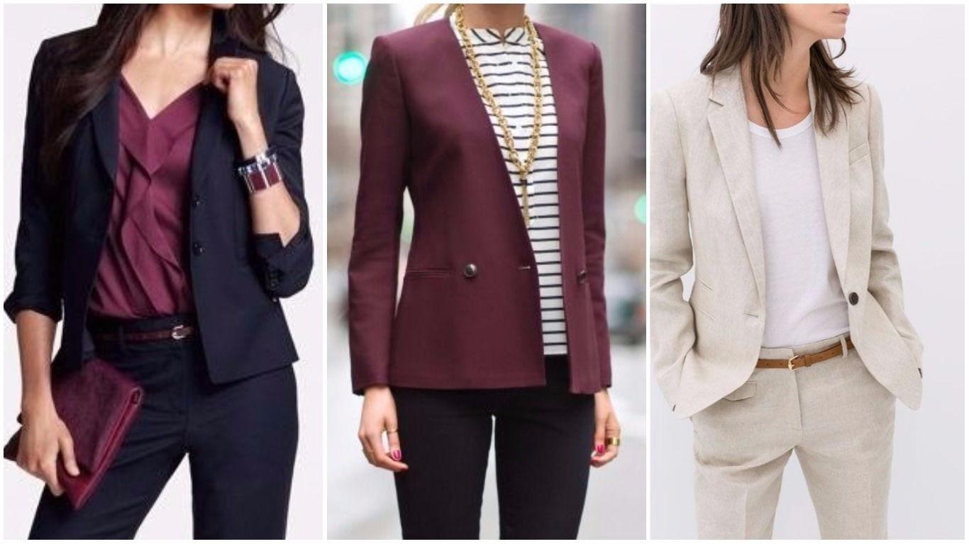 Модные классические пиджаки и жакеты осень-зима 2018-2019
