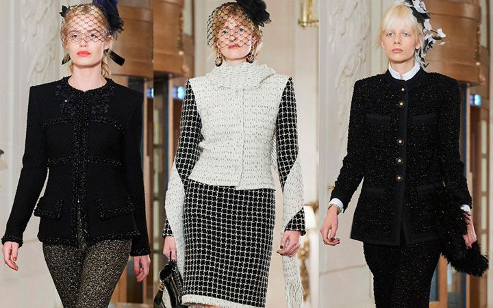Жакеты от Chanel - тренд осень-зима 2018-2019