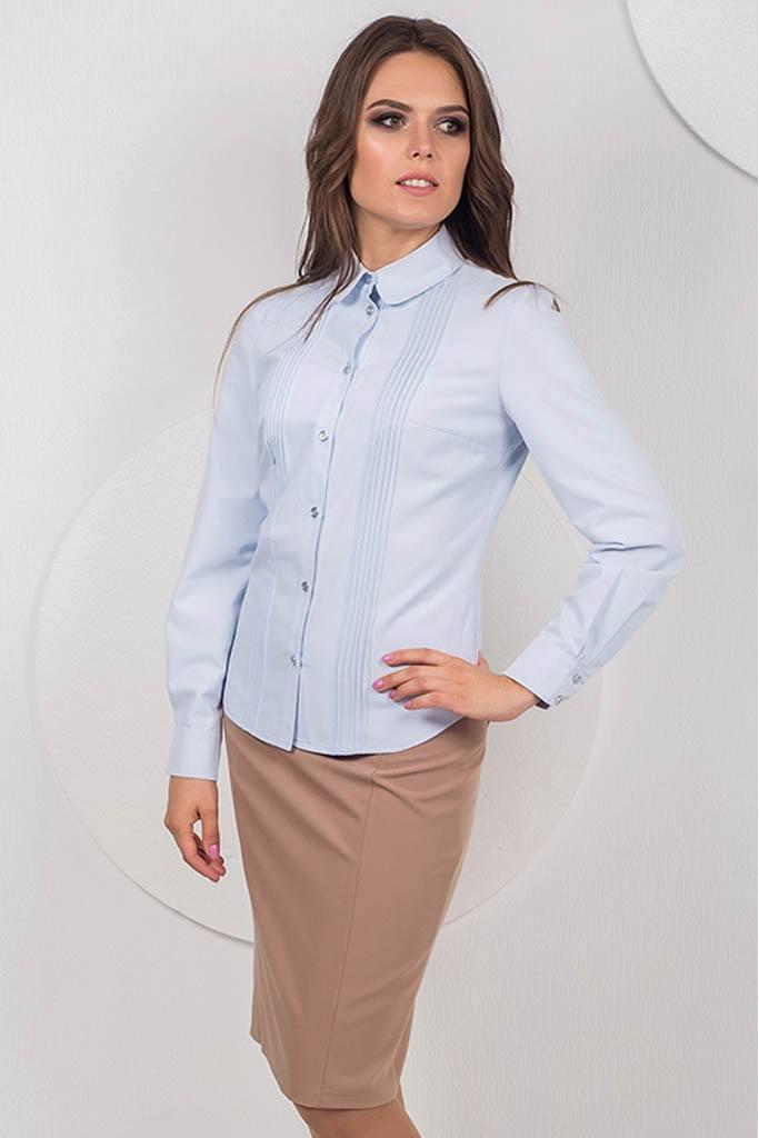 Классиеская женская рубашка осень-зима 2018-2019