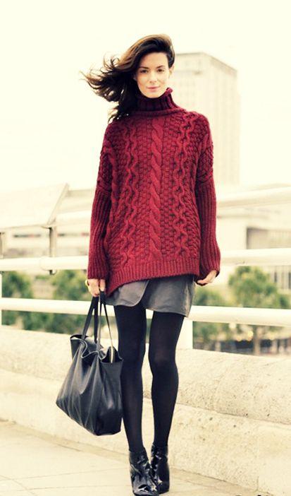 Модные женские свитера в стиле ретро осень-зима 2018-2019