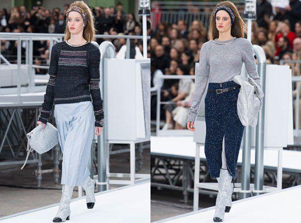 Стильные женские свитера из люрекса осень-зима 2019-2020