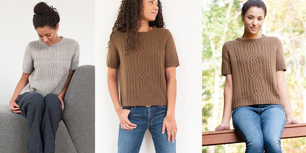 Модные кофты с короткими рукавами осень-зима 2018-2019