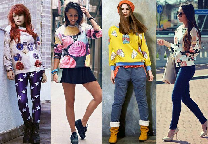 Модные свитшоты осень-зима 2020-2021