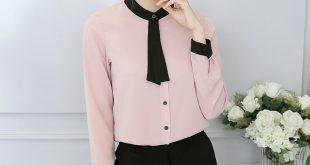 Модная женская рубашка осень-зима 2018-2019