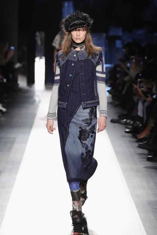 Модные сеты с платьями осень-зима 2018-2019