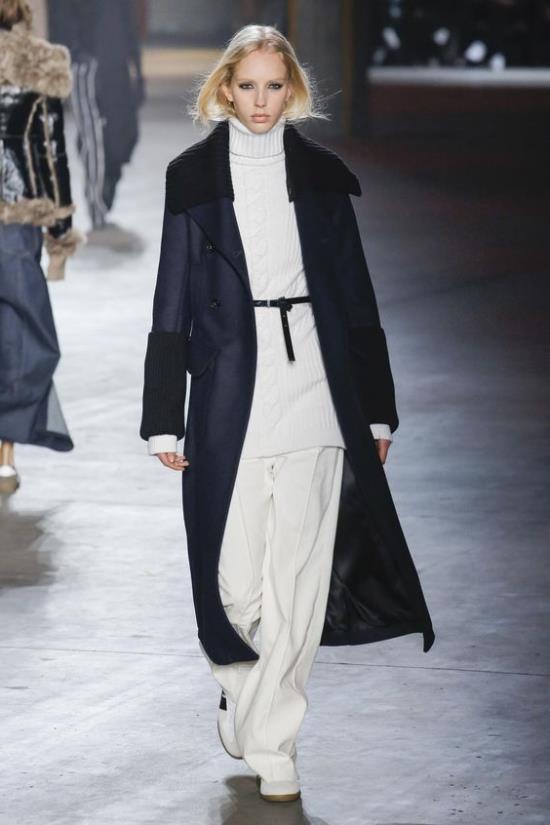 Модные сеты с пальто осень-зима 2018-2019