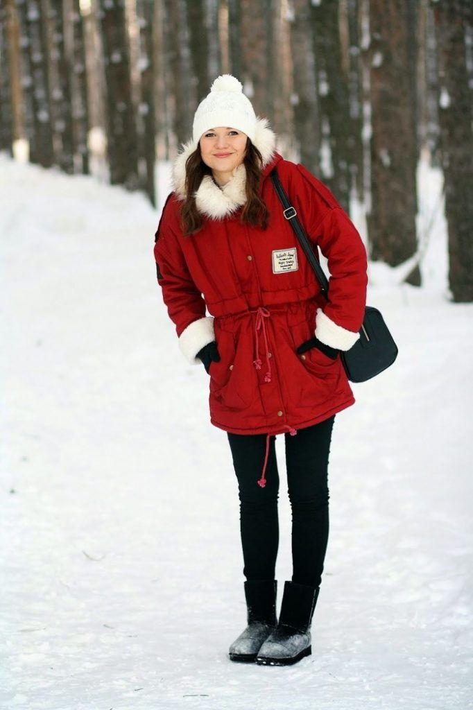 Какую шапку носить с курткой паркой