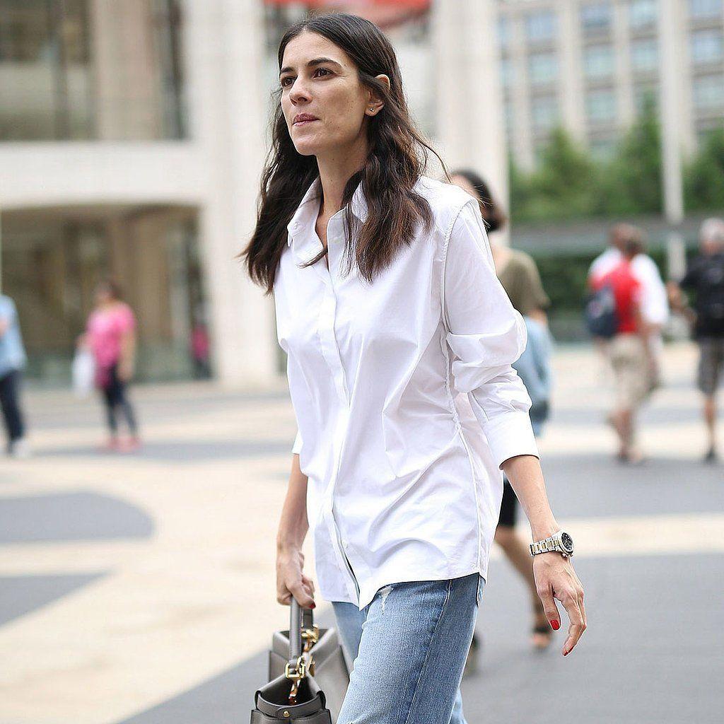 Женская белая рубашка осень-зима 2020-2021