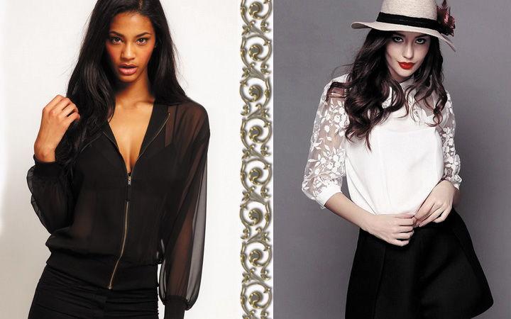 Модные блузки осень-зима 2018-2019