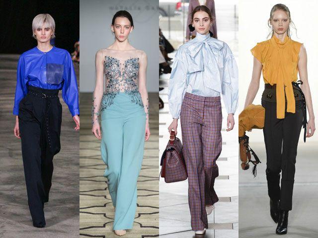 Блузки от дизайнеров осень-зима 2020-2021