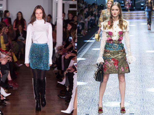 Модные блузы с длиными рукавами осень-зима 2018-2019