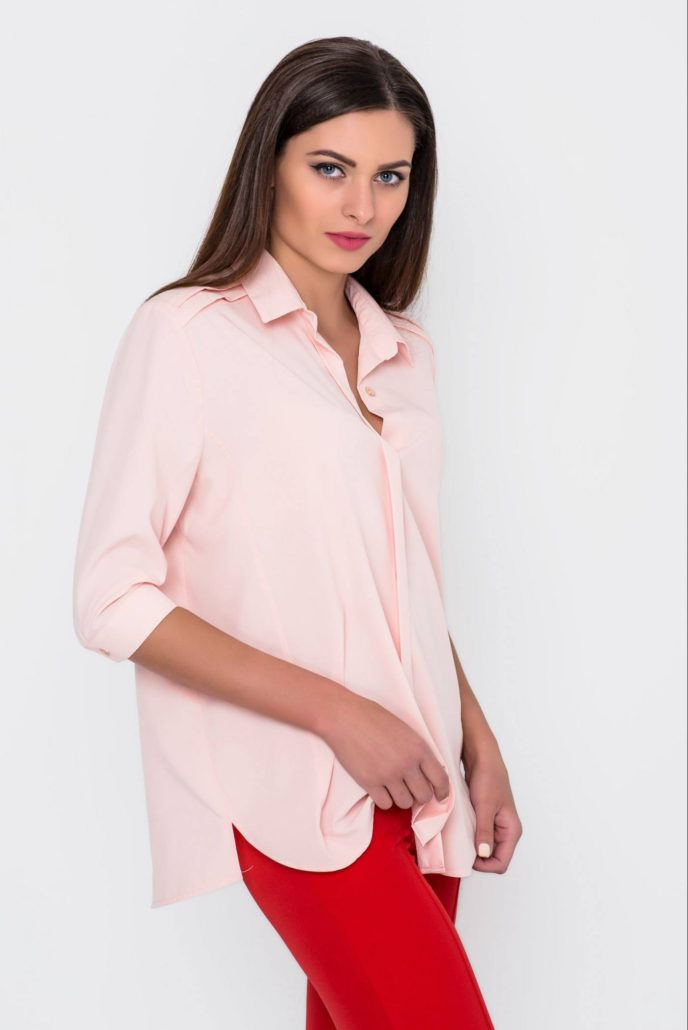 Модная блузка-рубашка осень-зима 2018-2019