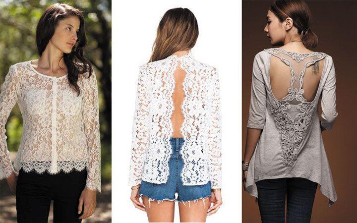 Модные блузки с вырезом на спине осень-зима 2020-2021