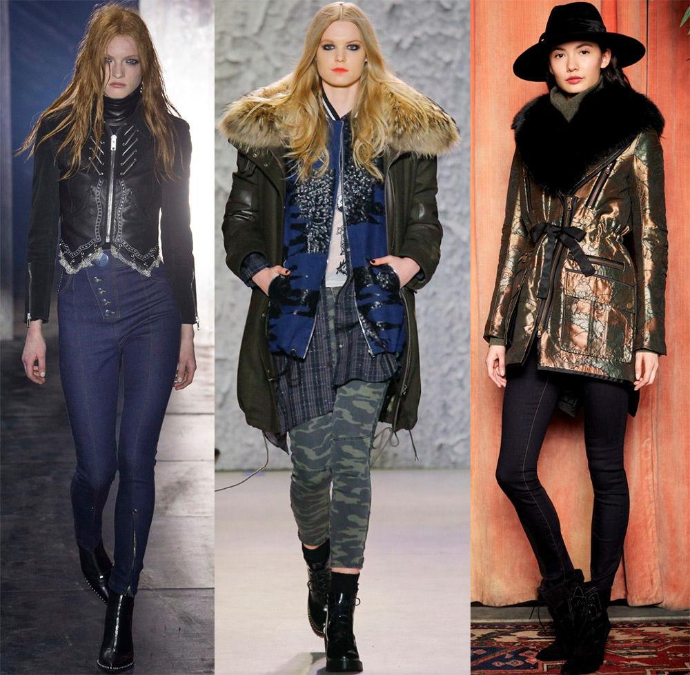 Стильные куртки осень-зима 2018-2019