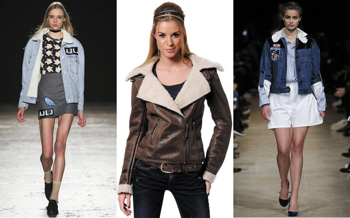 Модные фактуры модных женских курток осенне-зимнего сезона 2018-2019